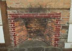 Fireplace in the Sanford- Bristol House