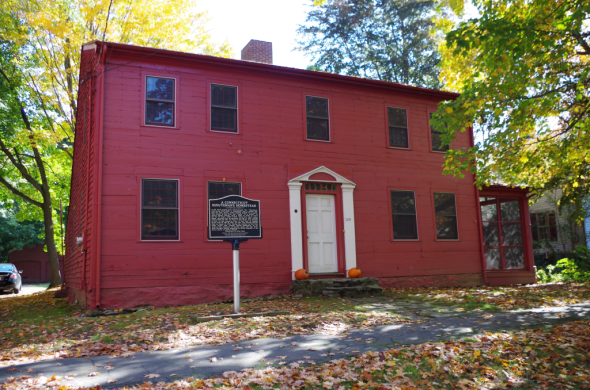 The John Downs House (c. 1790 or earlier), Milford, Connecticut