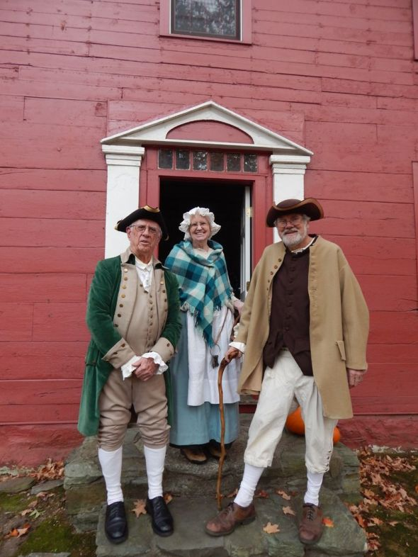 John Downs House - Dick Platt, Jane Platt, and Tim Chaucer - Halloween 2014